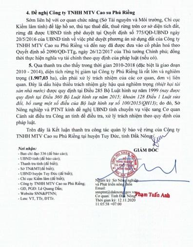 Hình ảnh: Đắk Nông: Hàng loạt cán bộ kiểm lâm địa bàn bị đề nghị kiểm điểm trách nhiệm số 3