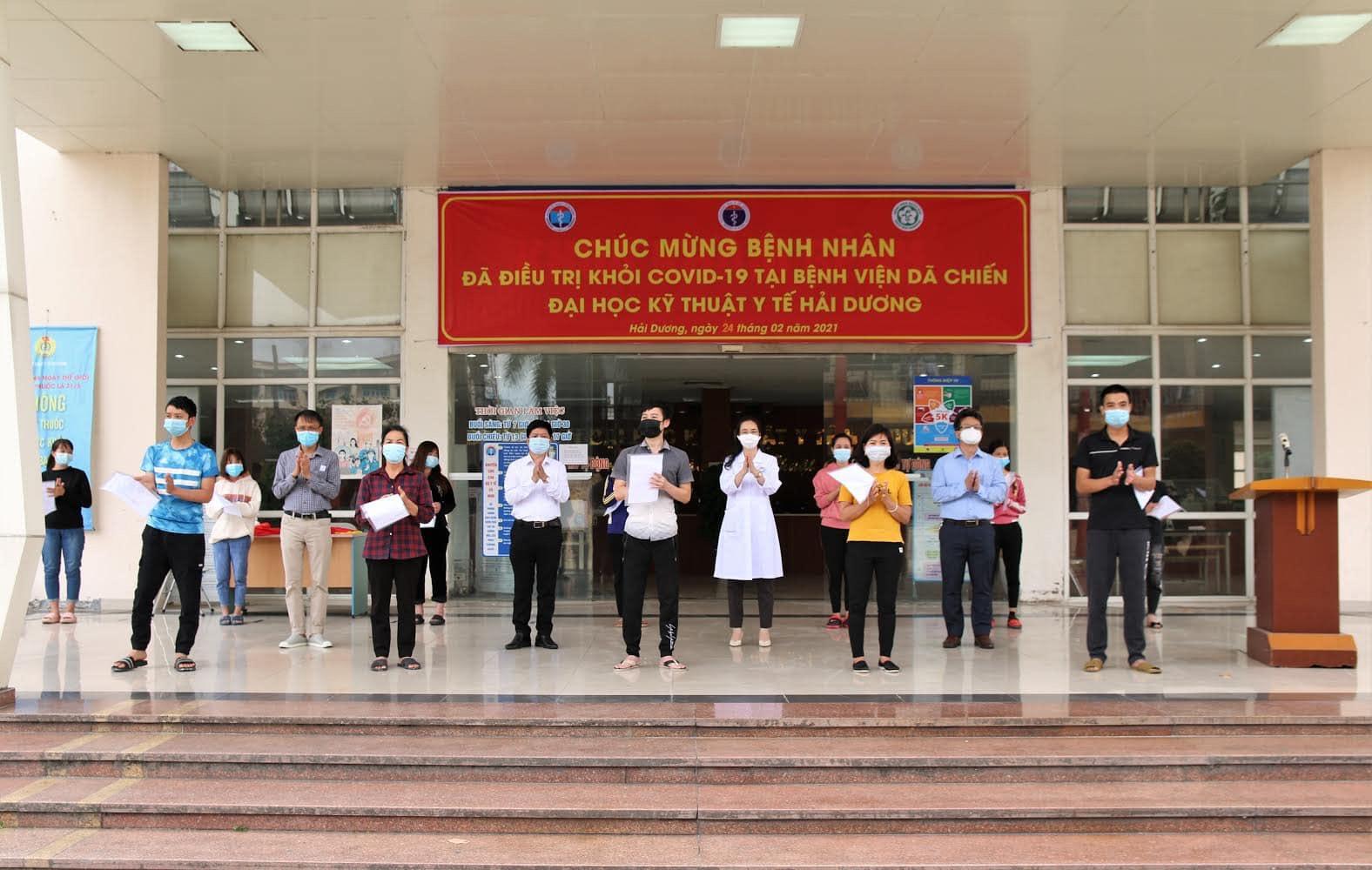 Hình ảnh: Bộ Y tế: Sáng 27/2 Việt Nam không ghi nhận ca nhiễm mới, Hải Dương 27 bệnh nhân nhiễm COVID – 19 ra viện. số 2