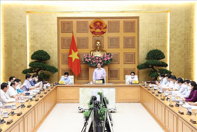 Hình ảnh: Thủ tướng chủ trì Hội nghị về giải ngân vốn đầu tư công số 1