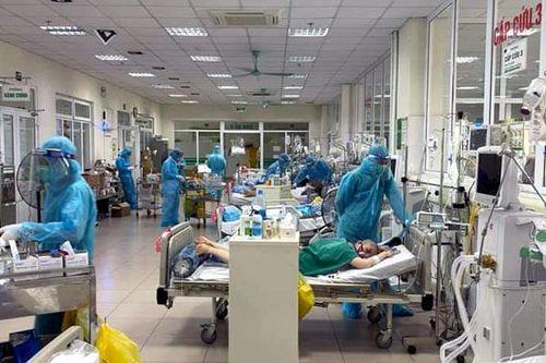 Hình ảnh: Một bệnh nhân mắc COVID-19 ở TP.HCM tử vong số 1