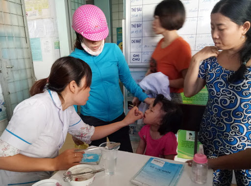 Hình ảnh: Chiến dịch bổ sung Vitamin A  kết hợp tẩy giun cho trẻ dưới 6 tuổi (đợt 1) năm 2021 số 2