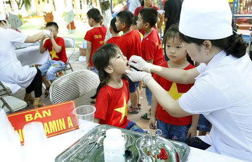 Hình ảnh: Chiến dịch bổ sung Vitamin A  kết hợp tẩy giun cho trẻ dưới 6 tuổi (đợt 1) năm 2021 số 3