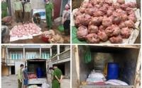 Nghiên cứu pháp luật: Tỉnh Thái Nguyên phát hiện hơn 3 tấn gà thịt đã bốc mùi hôi thối và 250 ký sản phẩm động vật không rõ nguồn gốc chuẩn bị bán ra thị trường.